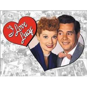 TV Movie I Love Lucy Metal Tin Sign Tribute Nostalgic