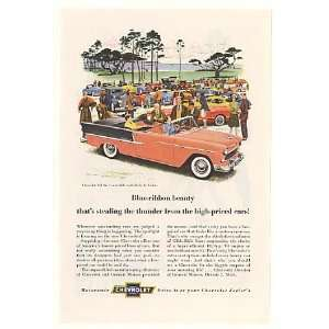 1955 Chevy Bel Air Convertible Car Show Print Ad: Home & Kitchen