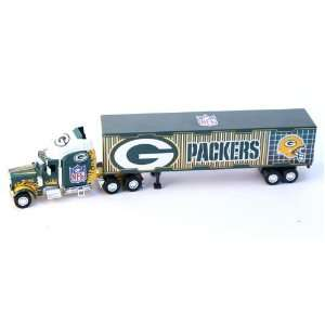Packers Diecast Semi Truck Tractor Trailer 1:80 Scale: Toys & Games