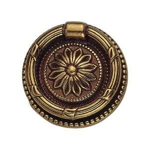 Bosetti Marella 100205.54 Louis XVI Brass Drop Pull, 1.85