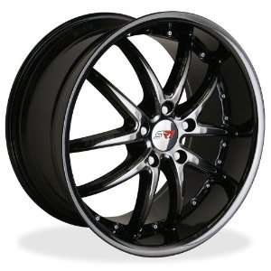Corvette Wheels   SR1 Performance Wheels / APEX Series (Set)   Black