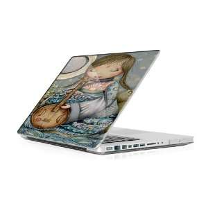 Moon Guitar   Macbook Pro 13 MBP13 Laptop Skin Decal