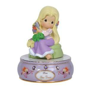 Precious Moments Porcelain/Resin Disney Tangled Musical, 5 Inch