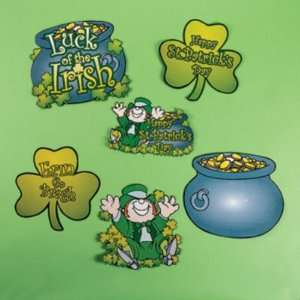 St. Patricks Day Cardboard Decorations Case Pack 108