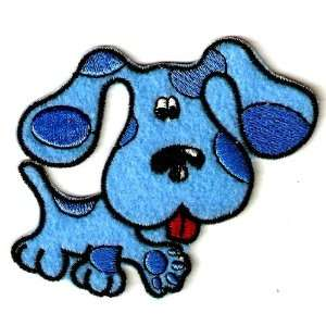 BLUES CLUES Dog Nick Jr Cartoon Embroidered Iron On / Sew