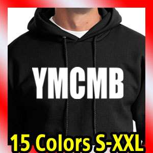 YMCMB BLACK HOODIE young money lil wayne weezy t shirt