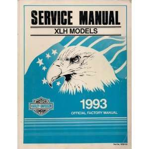 Manual for XLH Models, Part No. 99484 93: Inc. Harley Davidson: Books