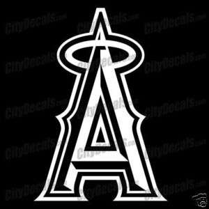 ANAHEIM ANGELS LOGO   VINYL WINDOW DECAL