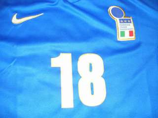 FOOTBALL SHIRT JERSEY ITALIA MAGLIA BAGGIO BRESCIA MILAN NIKE