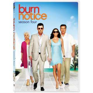 Burn Notice The Complete Fourth Season 4 (DVD, 2011, 4 Disc Set