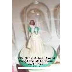 Avon Mini Mrs. Albee Award Figurine for 1995 By Avon