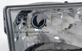 Jeep Grand Cherokee 93 98 OEM Factory Style Crystal Clear Headlights