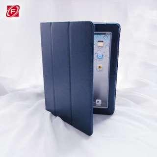iPad 2 Trifold PU Leather Case Folio Flip Case Smart Cover Multi Color