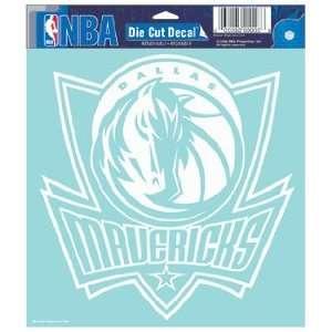 NBA Dallas Mavericks 8 X 8 Die Cut Decal Sports