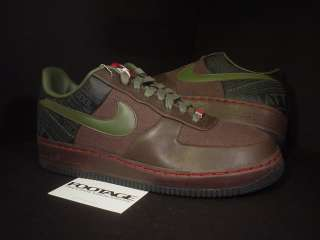 cheap for discount 2f7f9 4790b ... 2006 Nike Air Force 1 SUPREME 07 CALVIN NATT BROWN ARMY OLIVE GREEN ...