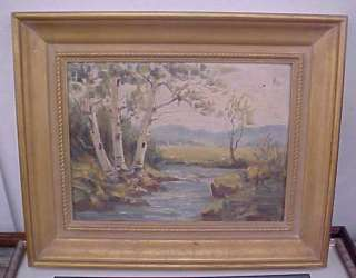 Woodstock Art Colony Colborne Oil Painting Landscape |