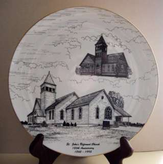St. Johns Reformed Church 150th Anniversary Plate NICE