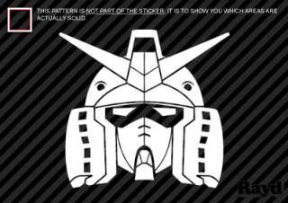 Gundam Sticker Decal Die Cut