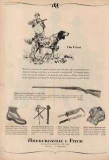 1959 Abercrombie & Fitch Hunting Webley & Scott Shotgun Solingen Knife