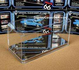 NEW 1/24 Scale MIRROR Display Case for IRL F1 NASCAR Diecast Model Kit