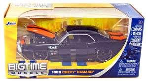 Diecast Jada Toys 1969 Black Chevy Camaro 1:24 Scale