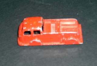Tootsie Toy FIRE PATROL truck 3 1/8 x 1 1/4 x 1 with wheels intact