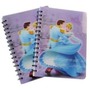 Disney Princess Cinderella 2 pcs notebooks set Toys