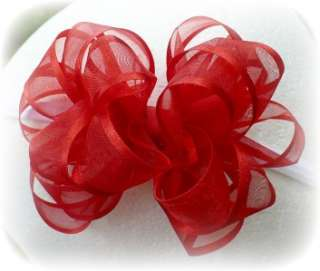 BUILD A BOW GIRLS HAIR BOWS 18 COLORS DRESS OUTFIT 3X3