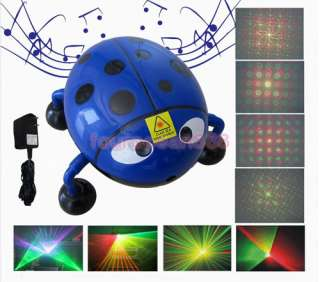 Mini G&R DJ Laser Stage Lighting Light Disco Party Club