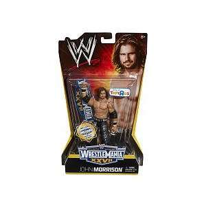 Wrestle Mania XXVII Action Figure John Morrison Toys & Games