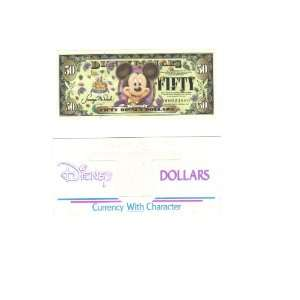 Mint $50 Mickey Disney Dollar 2005: Everything Else