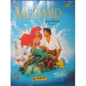 The Little Mermaid Sticker Album Disney Books