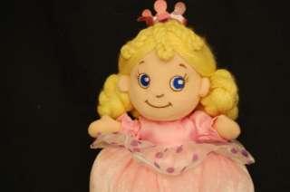 Plush PRINCESS PINK BABY ABC Development Lovey Doll