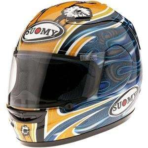 Suomy Spec 1R Gadea Replica Helmet   3X Large/Yellow Automotive