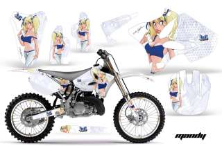 OFF ROAD MOTOCROSS GRAPHIC KIT YAMAHA YZ 125/250 02 11 MUBGW