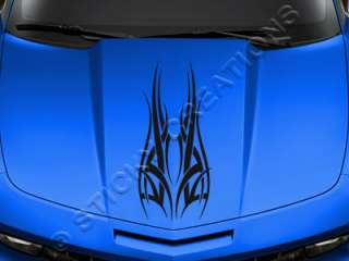 126 HOOD GRAPHIC Decal Sticker Tribal Vinyl Design Car