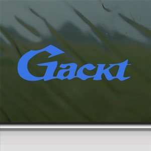 Gackt Blue Decal Jrock Japanese Car Truck Window Blue