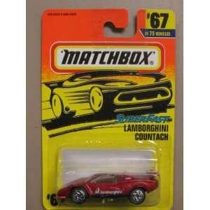 Matchbox Super Fast Lamborghini Countach #67 75: Toys & Games