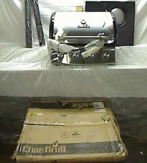 Char Broil 48,000 BTU, 665 Square Inch 4 Burner Gas Grill with Side