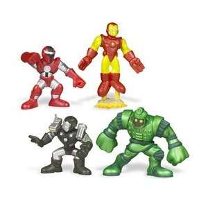 Iron Man Super Hero Squad Battle Packs   Face Off Toys