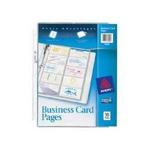 safe polypropylene. Wont lift print off business cards. Sized and