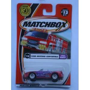 Matchbox 2002 12/75 Style Champs Ford Mustang Convertible
