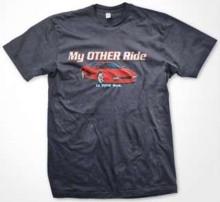 My Other Ride Is Your Mom. Hot Car Funny Mens T shirt