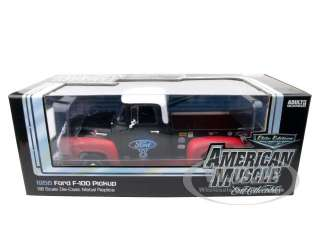 Brand new 118 scale diecast car model of 1956 Ford F 100 Pickup Truck