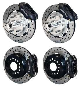 Front & Rear Disc Brake Kit Wilwood 140 7675 D