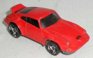 1974 Porsche Hot Wheels Diecast Red Car RARE