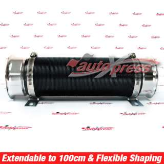 Universal 3 Multi Flexible Cold Air Intake Pipe Tube Duct Motor