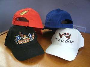 Puerto Rico Baseball Cap Hat 2 Styles Available