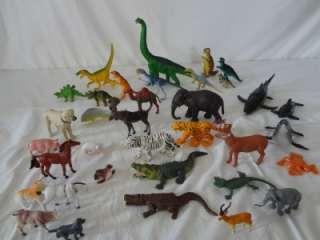 35p LOT ANIMALS Dinosaurs/Sea Creatures/Elephant/Crocodile Safari LTD