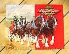 Budweiser Clydesdales Horses Retired Bar Game Room Mirror Sign